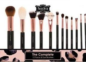 Complete Face & Eye Brush Set